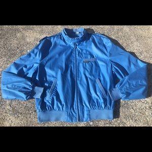 Vintage MEMBERS ONLY 1980s Blue Jacket Hong Kong